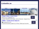 Linkedin. se - Karriär, Entreprenör, Mötesplatsen, Dejting, Gratis, Dagens deal, Tjäna pengar