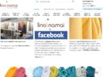 Lino Namai audiniai, patalynė, drabužiai, servetėlės, nėriniai