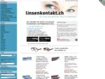 Linsenkontakt. ch - Kontaktlinsen, Pflegemittel, Eye Care, Contact Lens