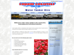 Liquid Logistics - Water Tanker Hire - Welcome