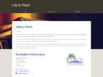 Litera Plzeò, s. r. o. nbsp;nbsp;nbsp;home page