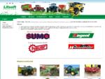 Žemės ūkio technika | Traktoriai, teleskopiniai krautuvai, kombainai ir kt. | UAB Litsoft