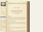 Home - Little Bloomers Family Childcare