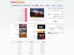 לייב טיקטס - כרטיסים לאירועי בידור בחו''ל, מוסיקה, תיאטרון וספורט