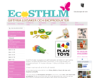 Ekologiska leksaker giftfrialeksaker träleksaker