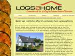 Geniet van comfort en sfeer in een houten huis van Logs2Home