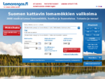 Lomarengas mökit - Suomen kattavin lomamökkien valikoima