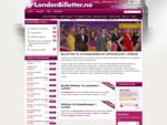 Billetter til attraksjoner og opplevelser i London. Bestill eller kjøp online hos LondonBilletter.