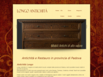 Antichità a Padova, Negozio di Antiquariato a Saletto di Montagnana