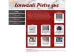 LORENZATI PIETRE snc, Barge CN - VisualSite