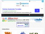 Los Impuestos | RFC Homoclave - ISR - Citas SAT - Tramitanet - Tenencia