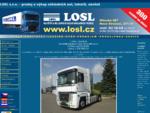 LOSL s. r. o. - prodej a výkup - nákladní auta tahače návěsy