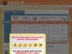 Loten. nl - Trekkingsuitslagen, loten, acties, opzeggen en meer