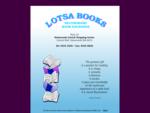 Lotsa Books Secondhand Book Exchange