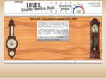LOUDY - Teploměry, barometry, hodiny