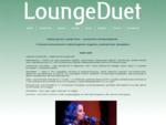 Кавер-группа Lounge Duet |