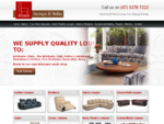 Leather Lounges Sofas, Fabric Lounge Furniture Store Brisbane