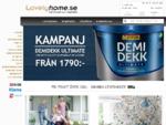 Lovelyhome. se - Handla färg, tapeter, kakelklinker, golv, badrumsmöbler och badkar online
