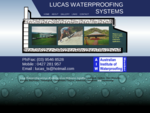 Lucas Waterproofing Systems | Home