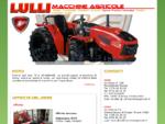 Lulli Macchine Agricole - Trattori, macchine operatrici e giardinaggio