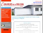 garage préfabriqué métal designo carport France LUnivers de la Maison