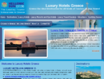 Luxury Hotels Greece and 4 star hotels in Greece