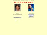 M - S E M I N A R E - Souml;ren Manthey Uwe Mayer