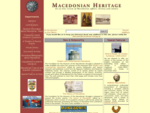 Macedonian Heritage An online Review of the Affairs, History and Culture of Macedonia