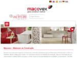 Macovex - Materiais de Construção   Loja Online