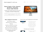Mac Support Brisbane - Certified Apple Technical Services
