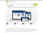 Web Design, Graphic Design and Printing in Christchurch | MacDesign