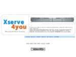 Web Hosting Apple Macintosh Xserve WebHosting server