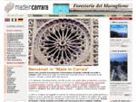 Made in Carrara sculture, colonne, camini, tavoli, lavandini, cornici e fontane in marmo