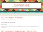 Le Patchwork de Mado