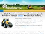 Macchine Agricole Magagna - Vendita e assistenza macchine e attrezzature agricole nuove e usate. Sa