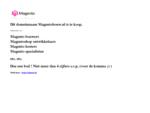 Magentobouw. nl, Magento specialist, Magento bouwers, Magento hosters, Magentoshop