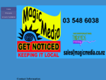 Contact Magic Media Embroidery, Screen Printing, Graphic Design and Promotional Products