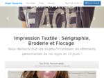 Impression Textile à Montpellier Sérigraphie, Broderie, Flocage