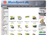 MainSport. dk - Sportsudstyr, Legetøj og fritidsudstyr