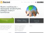 UAB GerovÄ- - firminiai maiÅ¡eliai₠šiukÅ¡lių maišų gamyba₠polietileno pakuotÄ-s gamyba