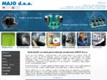 MAJO d. o. o. Beograd - WILO pumpe, gorionici, ventili, montažni i građeviski radovi, zaposlenj