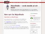 MajorStudio norsk musikk på sitt beste
