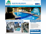 Malibu Inground Swimming Pool Builders Brisbane - QLD Concrete Pool Specialists