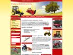 Malotraktory, sekačky, zemědělská technika - Bárny agro s. r. o.