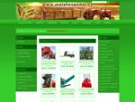 Malý hospodář s. r. o. - prodej malotraktorů Kubota, malé zemědělské a komunální techniky, mulčo