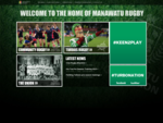 Manawatu Rugby - at the heart of New Zealand provincial rugby