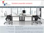 Pisarniško pohištvo, pisarniški stoli, predelne stene - MARC Interieri