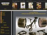 Trommelbau in Lörrach - MARCHING DRUMS - Schlagzeugwagen, Baslertrommeln, Pauken, Basstrommeln,