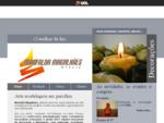 Marfalda Magalhães Ateliê produção velas luminárias parafina e cursos de artesanato