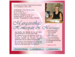 Margaretha's Homeopati Massage